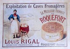 affiche roquefort rigal