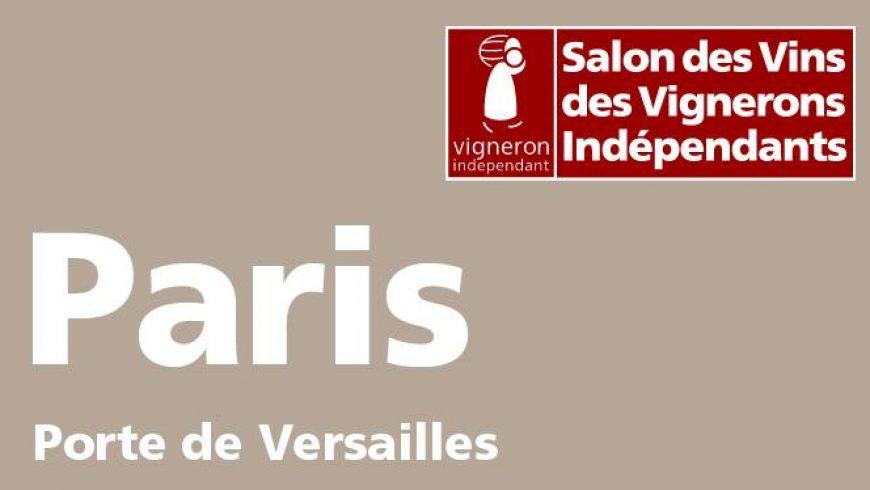 du 28/11 au 02/12/18 – Salon des Vignerons Indépendants à PARIS