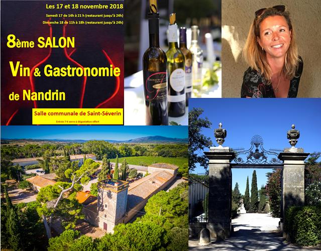 17 et 18 novembre 2018 – 8e Salon Vin & Gastronomie à Nandrin (Belgique)