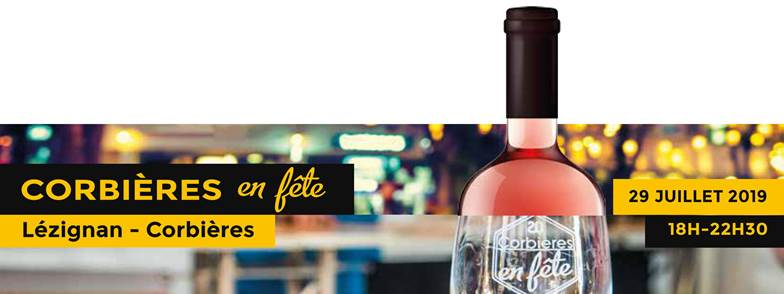 Corbières en Fête !!!! le lundi 29 juillet 2019, à Lézignan-Corbières