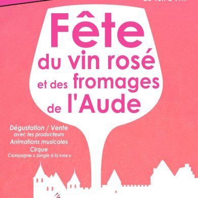 Fête du Vin Rosé à Carcassonne – samedi 22 juin 2019