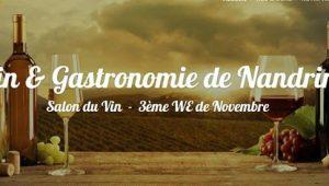 9e Salon «Vin & Gastronomie de Nandrin» (Belgique) – les 16 et 17 novembre 2019