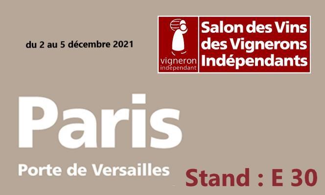 Salon des Vignerons Indépendants – Porte de Versailles 2021