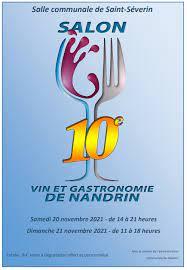 Belgique – Salon Vin & Gastronomie à Nandrin – 20 et 21/11